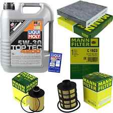 Inspection Kit Filter Liqui Moly Oil 5 L 5W-30 for Suzuki SX4 Gy 2.0 Ddis