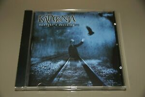 KATATONIA: Tonight's Decision (Peaceville 1999) - CD