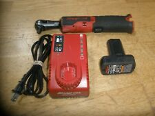 """SNAP-ON CTR761C 3/8"""" CORDLESS RATCHET W/CHARGER & 14.4V BATTERY"""