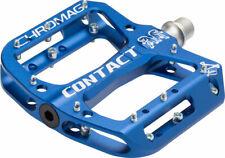"""Chromag Contact Pedals - Platform Aluminum 9/16"""" Dark Blue"""
