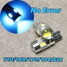 Reverse Backup Light T10 6 SMD LED 921 194 2825 168 12961 W5W Ice Blue W1 JA
