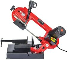 Portable Metal Cutting Band Saw 5-Amp Power Tool Tabletop Power Tool - 4 In.