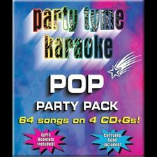 Karaoke Party Tyme PoP party pack 64 songs on 4 CD + Gs