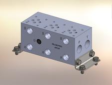 Hydraulic manifold A3P32P // AD03P032P // BMR-ASP03P2-03-1/Z // BA03GPS03NCUAAAA