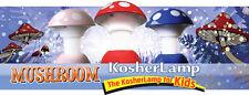 Kosher Innovations Mushroom Kosher Lamp Blue / Red / Pink Free Shipping NEW