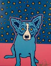 "Blue Dog George Rodrigue     ""Starry Starry Nights""    MAKE  OFFER   BA DSS"
