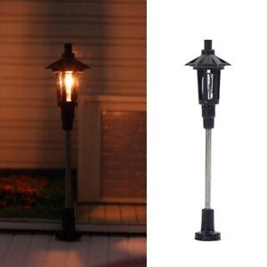 Streetlights H0 Tt Park Lamp Parking Lights 1-flammig 5cm Lamps 10 Piece S091