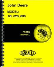 John Deere 80 820 830 Tractor Parts Manual (Jd-P-Pc766)