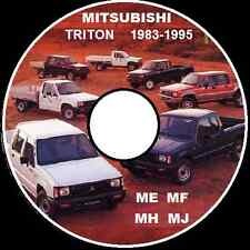 MITSUBISHI TRITON Early ME-MF-MH-MJ 1983-TO-1996   WORKSHOP REPAIR MANUAL CD