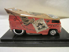 Hot Wheels Liberty Promotions Outlaw with Mug Shots VW DRAG BUS  #528/1000 Made!