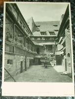 Nürnberg Heiliggeistspital Hof: alte Tafel Fotografie
