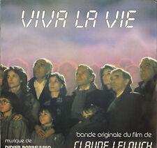 "DIDIER BARBELIVIEN / CLAUDE LELOUCH ""VIVA LA VIE"" B.O. FILM LP 1984"