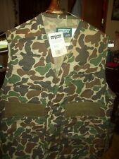 Men's SafTbak Hunting Vest Camo  Size S 34-36  NEW