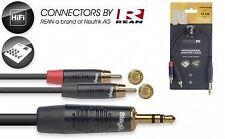 Stagg N-jack estéreo de 1/4 - 2 Series X Cable RCA Macho - 10 Cm
