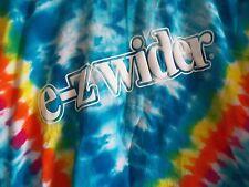 Vintage E-Z WIDER Rolling Paper TIE DYE Promo T-Shirt Marijuna