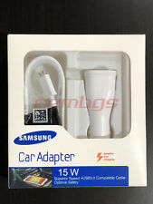 NEW Original OEM Samsung Galaxy S6 S7 Note 4 5 Adaptive Fast Rapid Car Charger