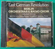 NEW EAST GERMAN REVOLUTION CD BERLIN ORCHESTRAS & RADIO CHOIR HELMUT KOCH Sealed