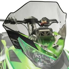 Arctic Cat Mid Windshield Clear Tinted with Black 2012-2017 ZR F XF M - 7639-368