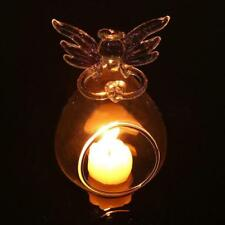 Angel Candlestick Glass Hanging Candle Tea Light Holder Wedding Home Decor Party