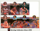 1995 Futera NBL Trading Cards Head To Head Diecut Card Full Set (7)