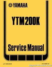 1983 1984 1985 Yamaha YTM200K Tri-Moto ATC Service Manual