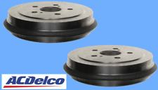 2 Brake Drums ACDELCO Pro Rear 5 Lug L & R For Toyota Celica Corolla Prius