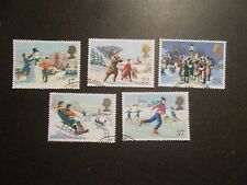 GB 1990 Commemorative Stamps~Christmas~Very Fine Used Set~UK Seller