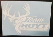 Hoyt Archery Buck Deer Bow Hunting Vinyl Decal Sticker Truck / Car  7x5 inch
