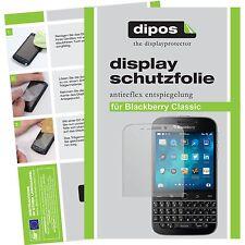 2x dipos Blackberry Classic Pellicola Prottetiva Antiriflesso Proteggi Schermo