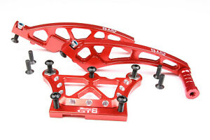 GTB LOSI DBXL Front Top plate + Front Chassis Bracket + Rear Chassis Brace Set
