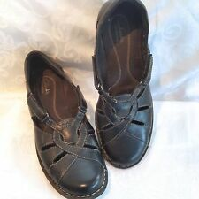 Clarks Bendables Nikki Regatta Slip On Brown 39333 Mary Janes Shoes Womens 10