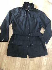 Ladies Barbour Black Jacket Size 14