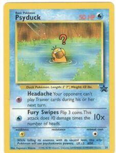 Psyduck Black Star Promo Pokemon Card  #  20