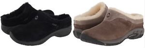 Merrell Women's Encore Ice Slip On Shoes fur lined sheepskin clog