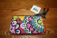 Vera Bradley Double Zip Cosmetic Rio case bag for tote backpack crossbody travel
