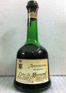 1 Bt. Armagnac Selection Duc de Maravat - 700ml 40%, rarità molto ricercata !!!