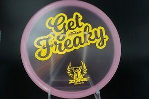 Discraft Brodie Smith Get Freaky Cryztal Flx Zone Lt. Pink
