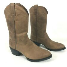 ARIAT Sedona Western Boots 9.5 EE Wide Distressed Brown