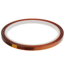 5mm 100ft BGA High Temperature Heat Resistant Polyimide Kapton Tape Gold