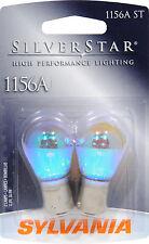 Sylvania Silverstar 1156AST BP Amber Signal Light Bulb - Pair