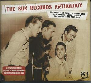 The Sun Records Anthology - 75 Original Recordings (3CD 2008) NEW/SEALED