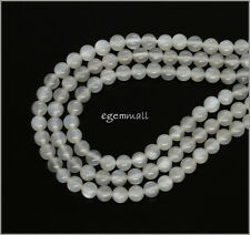 """15.8"""" Natural Gray Moonstone Round Beads ap.4.4mm 74120"""