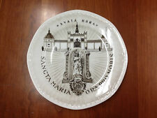 Vintage Czechoslovakia Holy Mountain St. Mary Collector Plate Ora Pro Nobis