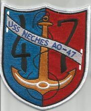 US NAVY - USS NECHES AO-47 FLEET OILER MILITARY PATCH