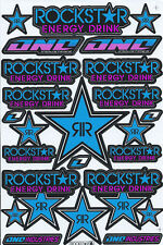 New Rockstar Energy Motocross ATV Enduro Racing Graphic stickers/decals. (st189)