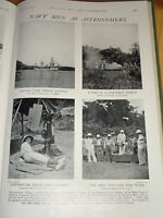 1901 Solare Eclipse Ayer Gedang Sumatra Navy Astronmers
