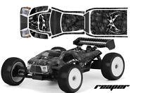 RC Body Graphics Kit Decal Sticker Wrap For Proline Bulldog MBX6-T REAPER BLACK