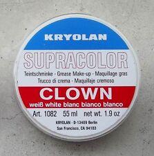 KRYOLAN SUPRACOLOR BIANCO CLOWN 55 ml 80 gr white cialda trucco teatrale
