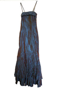 Womens Wedding Cocktail Evening Party Prom Long Gown Maxi Dress size 10
