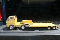Tonka COE Truck Gas Turbine Lowboy Semi Truck and Flatbed Trailer pressed steel
